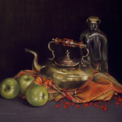 Christine Broersen 'Copper Teapot'