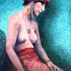 Colin Shaw 'Pensive in Pearls'