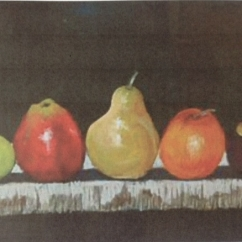 Kerrie Clements 'Fruit, Colour Study 1'
