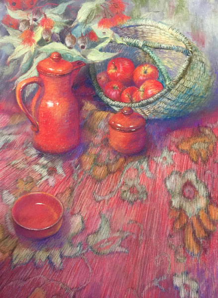 Caroline Lewallen, Arrangements in Red