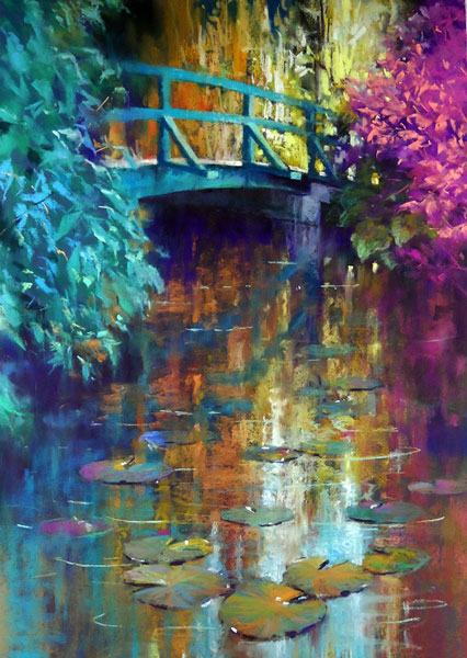 Cathy van Ee, Monet's Bridge