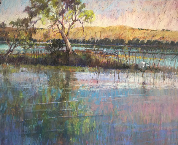 Pamela Pretty, Morning on the Murray