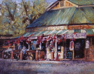 Angela Russo, Afternoon Light, Hahndorf