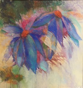 Sue Callil, Blue Coneflowers