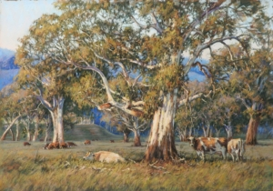 Grazing Cattle Near Mansfield, Barbara Beasley-Southgate