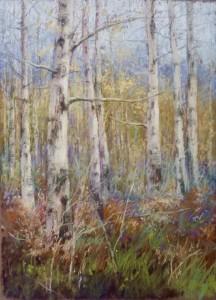 Birch Woodland - Caroline Lewellan