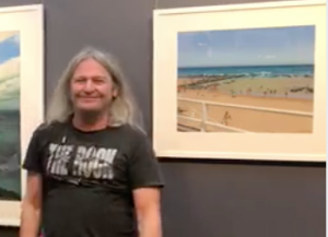 Rod Bathgate | demonstrating in Nov 2020 for the Pastel Society of Victoria, Australia