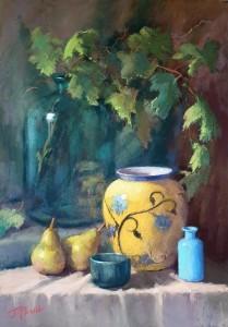 Jennifer Paull - The Yellow Vase